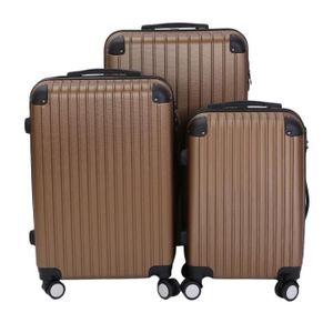 SET DE VALISES lot de 3 VALISE BAGAGE pour Voyage,Trolley Moyenne