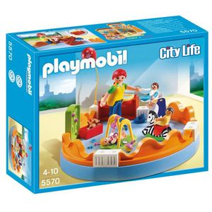 UNIVERS MINIATURE Playmobil 5570 - Jeu De Construction - Espace Crèc