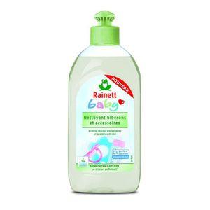 STÉRILISATION À FROID RAINETT Liquide Vaisselle pour Bébé/Ustensiles/Bib