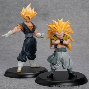 JOUET Lot de 2 Figurines Dragon Ball Z Super Saiyan Son
