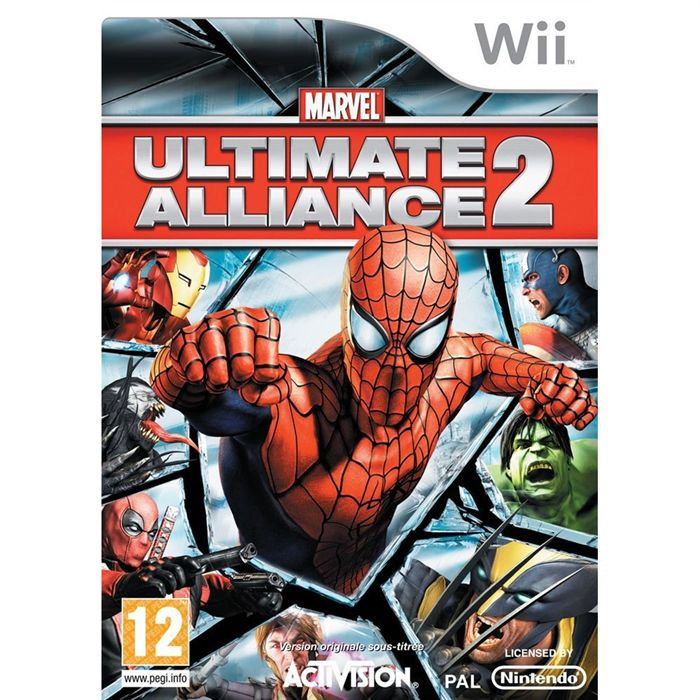 JEUX WII MARVEL ULTIMATE ALLIANCE 2 / JEU CONSOLE NINTENDO