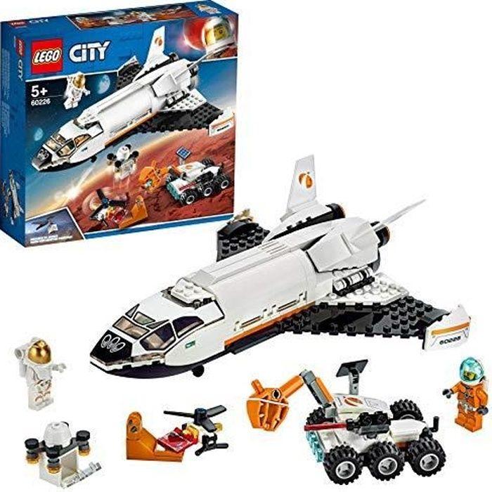 LEGO®-City La navette spatiale Enfant de 5 Ans et Plus, Jouet de Construction, 273 Pièces 60226 60226