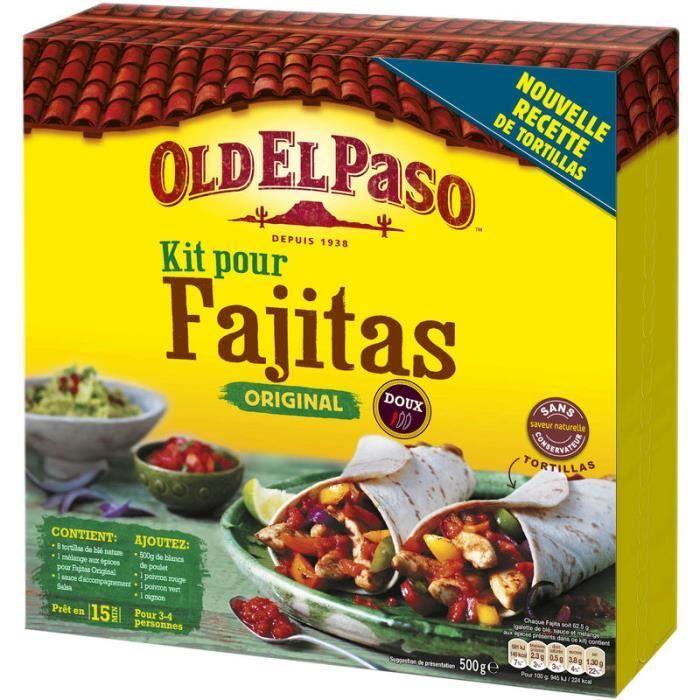OLD EL PASO Kit Fajitas Original - 500 g