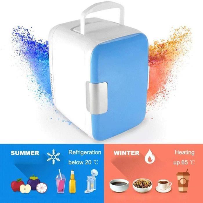 4L Mini Réfrigérateur De Voiture Silencieux Économie D'énergie MINI Frigo de voyage de camping