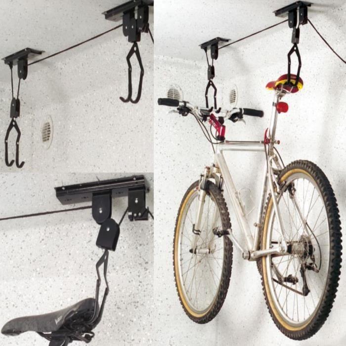 Support lève vélo de plafond ProPlus 730915