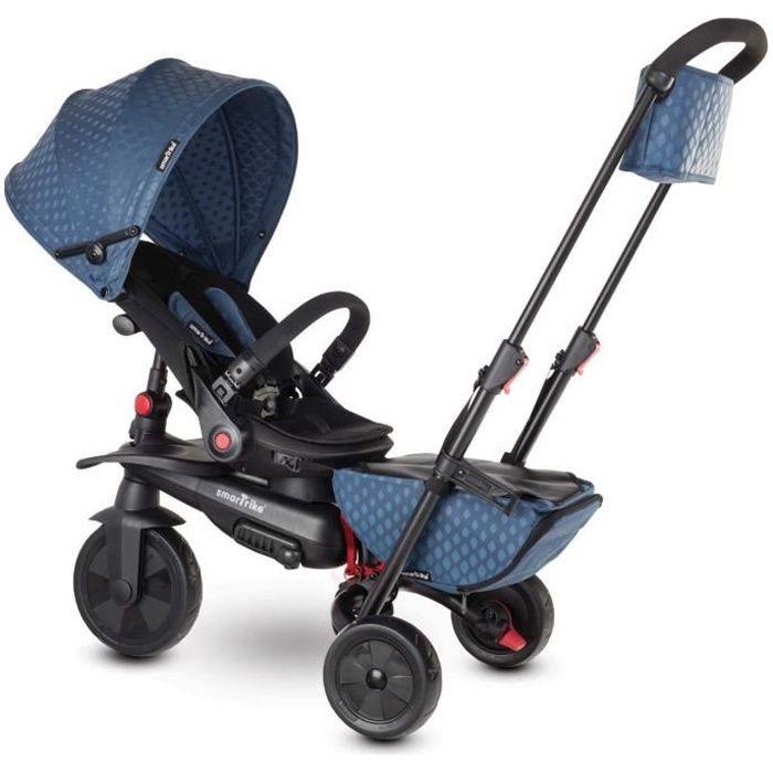 smarTrike 7 Tricycle évolutif 7 en 1 pliant / siège inclinable Bebe smart trike - Bleu
