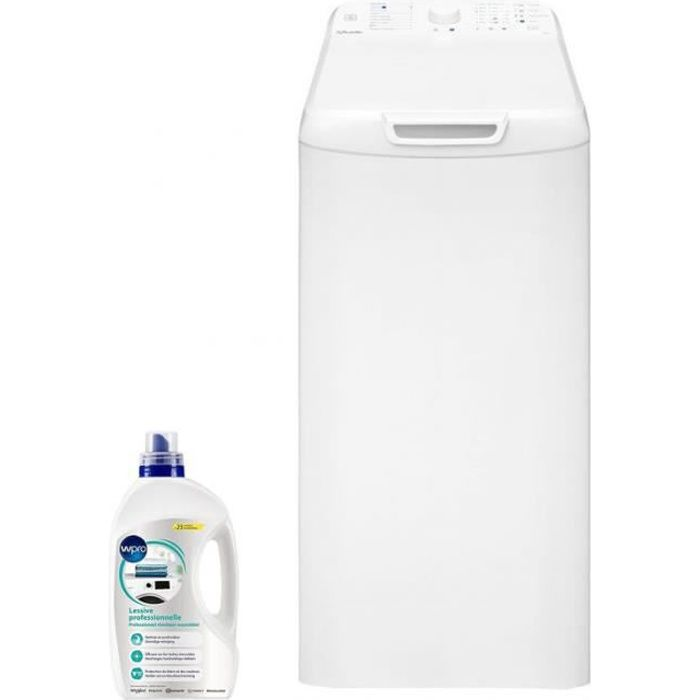VEDETTE Lave-linge top 6kg 1200trs/min Hygiène Express Machine à laver 60 Blanc