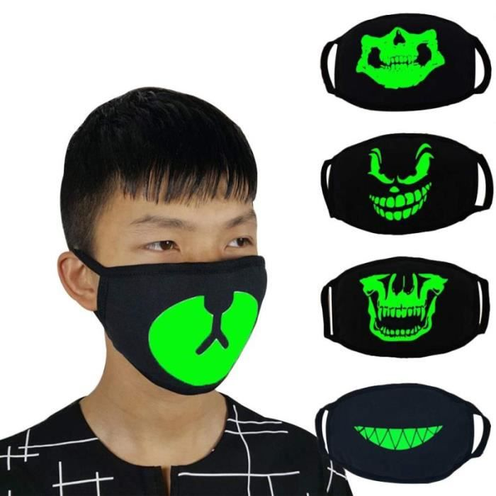 masque anti poussiere lumineux