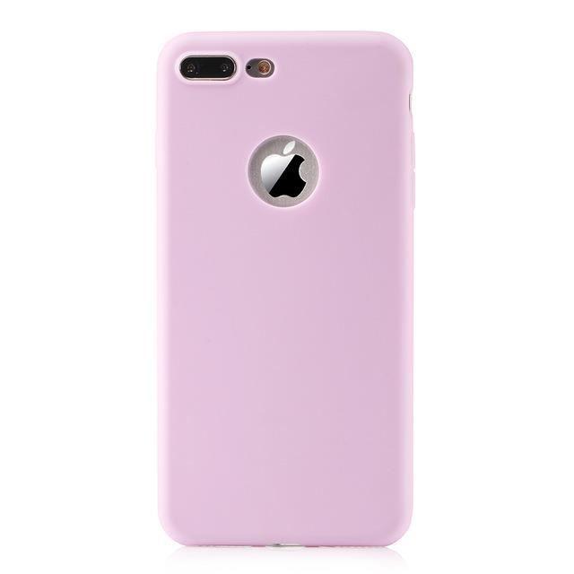 coque iphone 5s plastique souple mauve 1 33x
