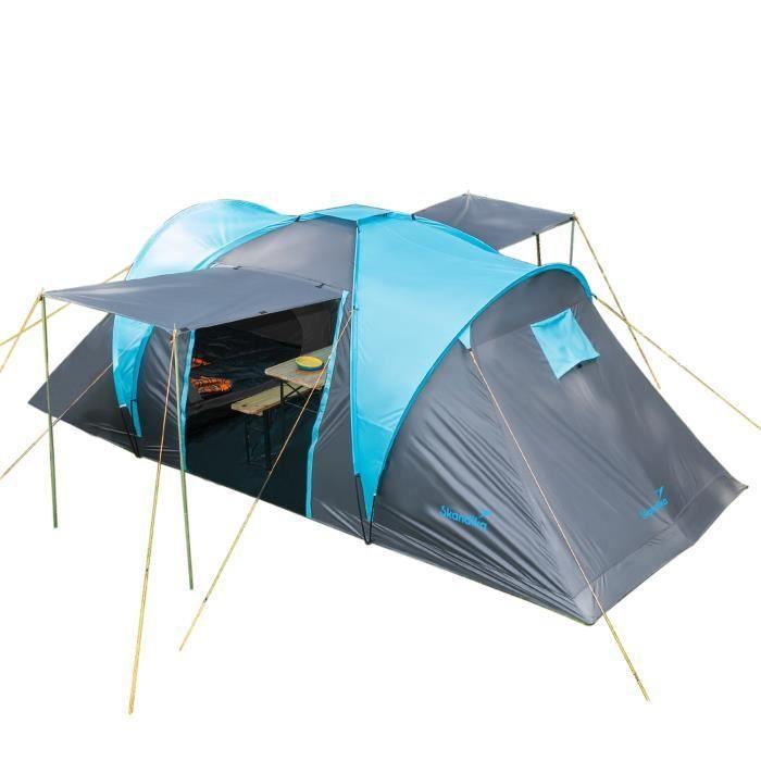 TENTE DE CAMPING Skandika HAMMERFEST 4 - Tente de camping familiale