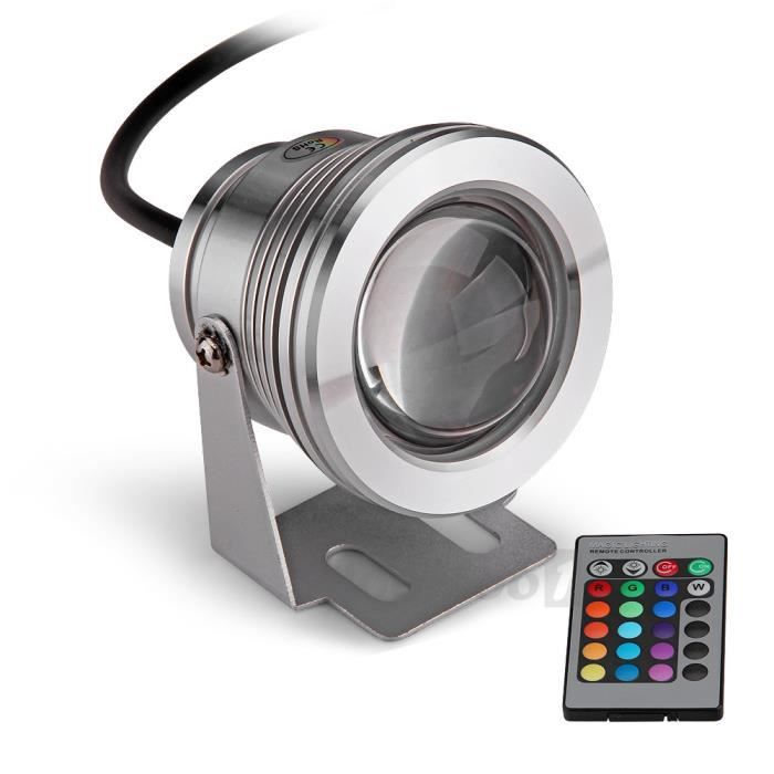 led projecteur lampe eclairage lumi re etanche achat vente projecteur ext rieur led. Black Bedroom Furniture Sets. Home Design Ideas