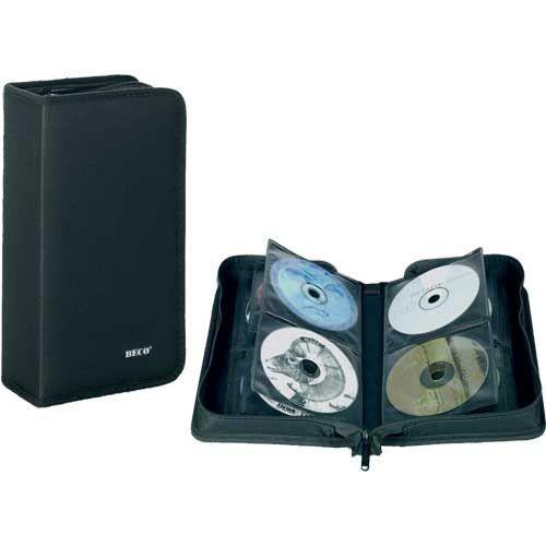 RANGEMENT CD-DVD CD album pour 96 CD, nylon, noir, pack pendaiso…