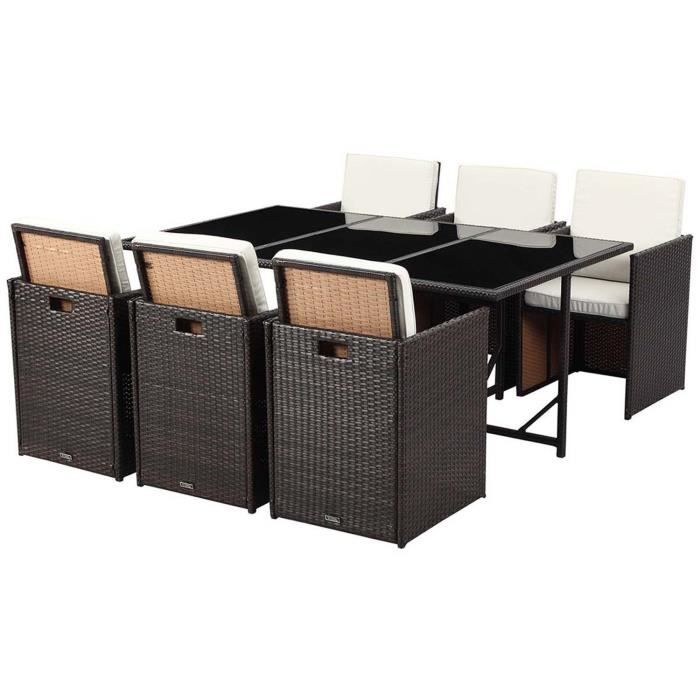 salon de jardin r sine tress e chicago 6 buffalo. Black Bedroom Furniture Sets. Home Design Ideas