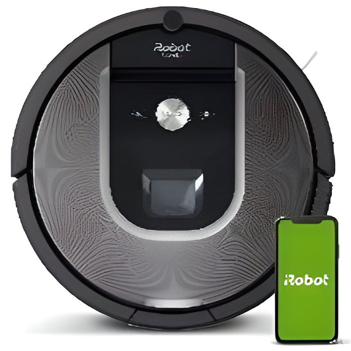 aspirateur robot irobot roomba achat vente pas cher. Black Bedroom Furniture Sets. Home Design Ideas