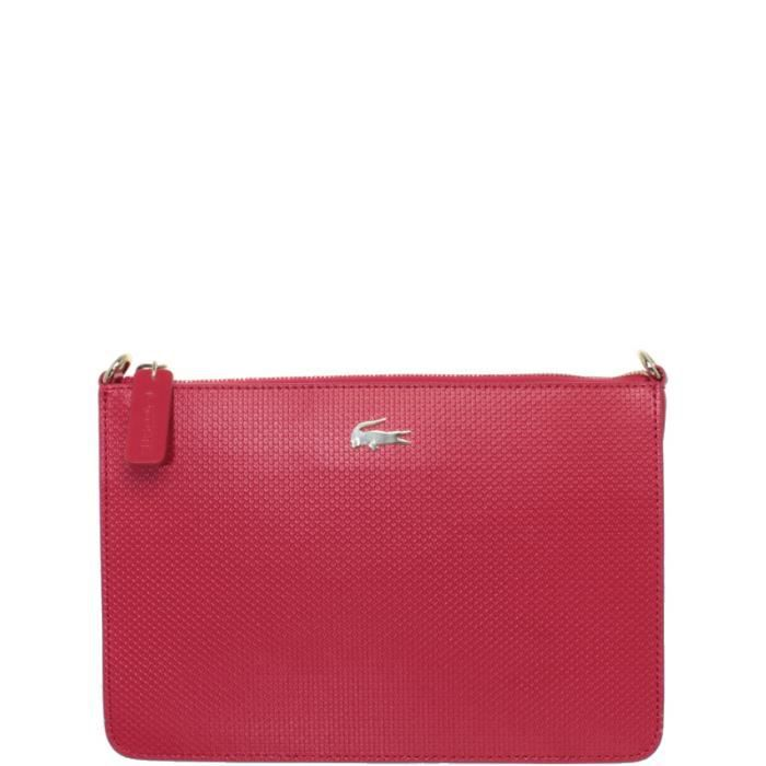 Sac Lacoste Crossover porté travers ref_cem38555-280-tango-red