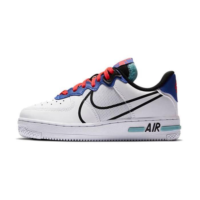Nike Air Force 1 React GS CD6960-101 Chaussures de