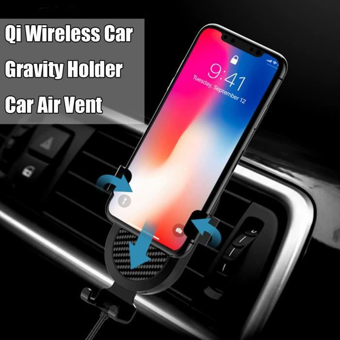 Support voiture iphone x