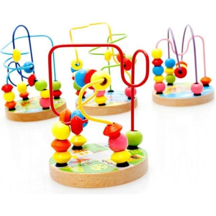 PUZZLE 1pcs bébé garçons filles montessori en bois jouets