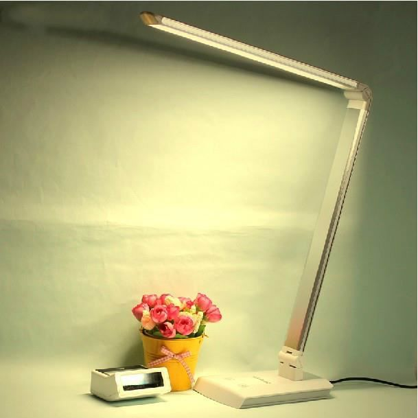 lampe de bureau led bouton tactile luminosit r glable prot ge yeux economique achat vente. Black Bedroom Furniture Sets. Home Design Ideas