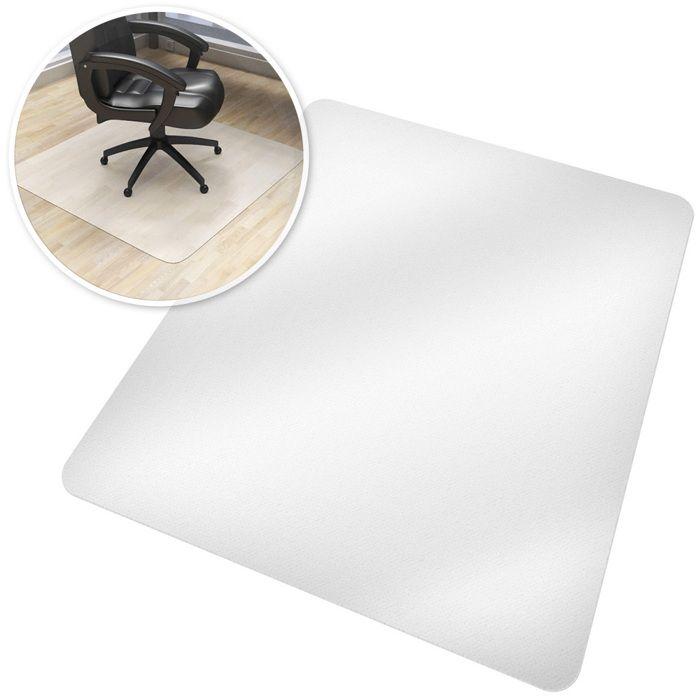 90 * 120 Deux Tailles au Choix Tapis de Protection de Sol Transparent Rectangulaire pour Salon Bureau Chaise Zerone