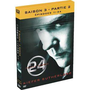 DVD SÉRIE DVD 24 heures chrono, saison 3b