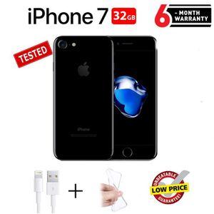 SMARTPHONE RECOND. Apple iPhone 7 Noir de Jais 32Go - Reconditionné