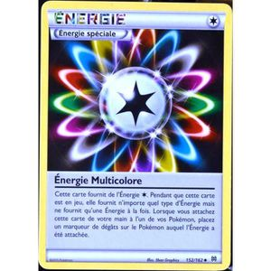 CARTE A COLLECTIONNER Energie Multicolore