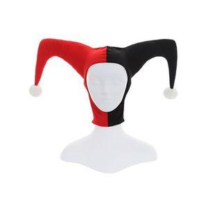 MASQUE - DÉCOR VISAGE Chapeau Masque Clown Déguisement Accessoires Costu
