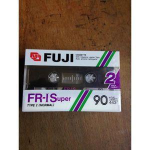 RADIO CD CASSETTE FUJI LOT DE 2 Cassette audio vierge Type 1 ( norma