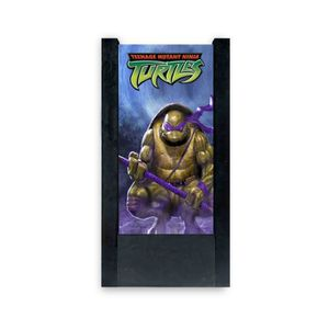 LAMPE A POSER Lampe de table noire tortues ninja donatello