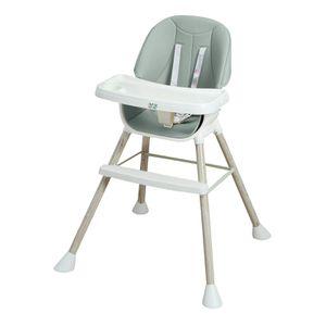 CHAISE HAUTE  Baby Vivo Chaise haute Bébé 2 en 1 réglable pour E