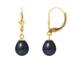 Boucle d'oreille PERLINEA Boucles d'Oreilles Perles de Culture et O