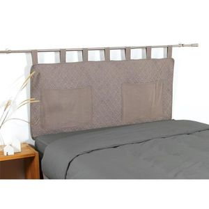 HOUSSE DE TÊTE DE LIT COTE DECO Tête de lit matelassée Microfibre lavée