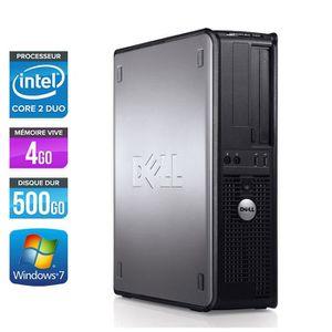 UNITÉ CENTRALE  Pc de bureau Dell 780 DT - E7500 - 4Go - 500Go HDD