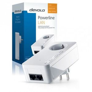 COURANT PORTEUR - CPL Devolo 550 DUO+ POWERLIN, 500 Mbit-s, IEEE 802.3,I