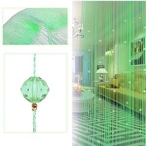 RIDEAU DE PORTE Gosear® , décor cristal perlé Imitation cristal pe