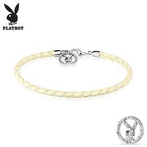 Bracelet Playboy maillons ronds