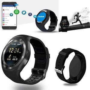 MONTRE CONNECTÉE Pour Meizu 16Xs - Montre Connectée Ronde Bluetooth