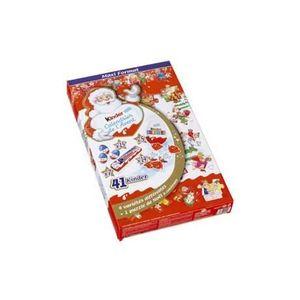 Calendrier De Lavent Kinder 343 G.Confiserie De Noel Kinder Calendrier De L Avent Premium
