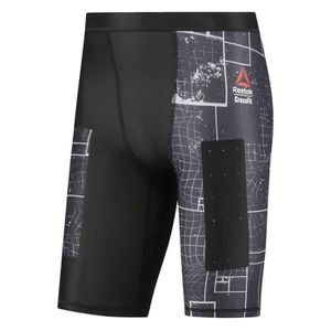 Vêtements homme Collants de course Reebok Crossfit Compression Short ... a71adc4c6421