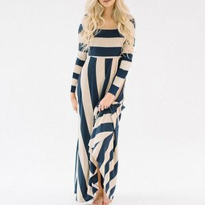 femmes-robe-longue-maxi-dress-ladies-stripe-casual.jpg abc68ccc474