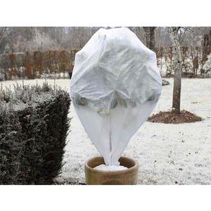 PAILLAGE - VOILE NATURE Lot de 3 housse d'hivernage 30 g/m² - H 75