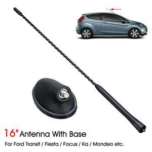Antenne de toit et base Pour Ford Fiesta Focus Mondeo KA Transit 1087087 Noir