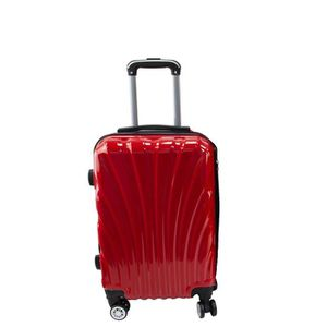 VALISE - BAGAGE Valise Rigide Légere à 4 roulettes - Rouge - Taill