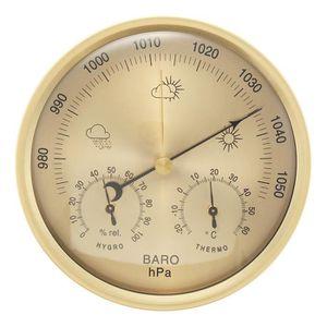 STATION MÉTÉO TEMPSA 3 en 1 Baromètre Thermomètre Humidomètre 13