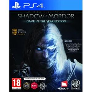 JEU PS4 MIDDLE EARTH SHADOW OF MORDOR GOTY EDITION