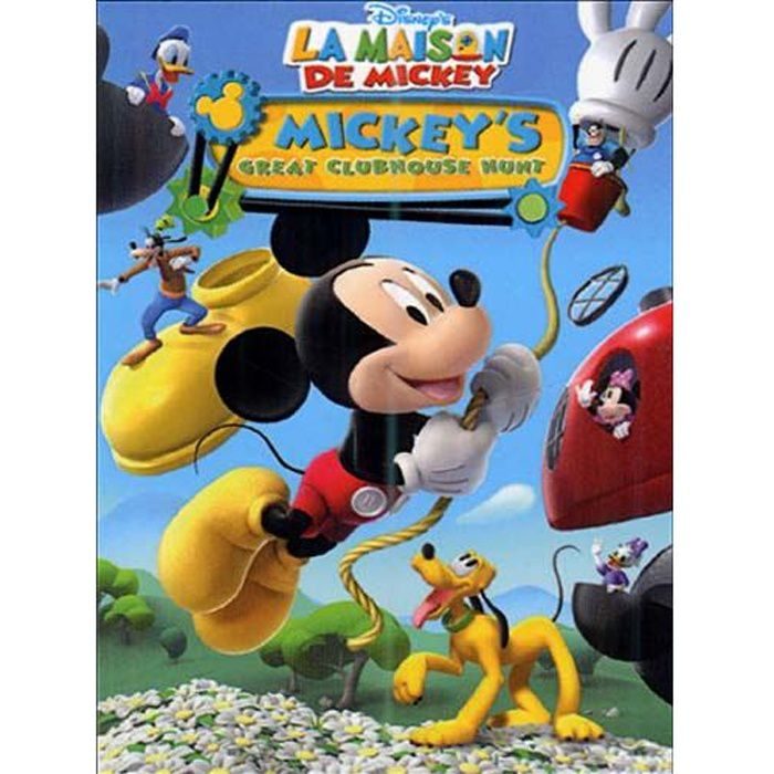 dvd la maison de mickey la chasse aux oeufs d en dvd dessin anim pas cher cdiscount. Black Bedroom Furniture Sets. Home Design Ideas