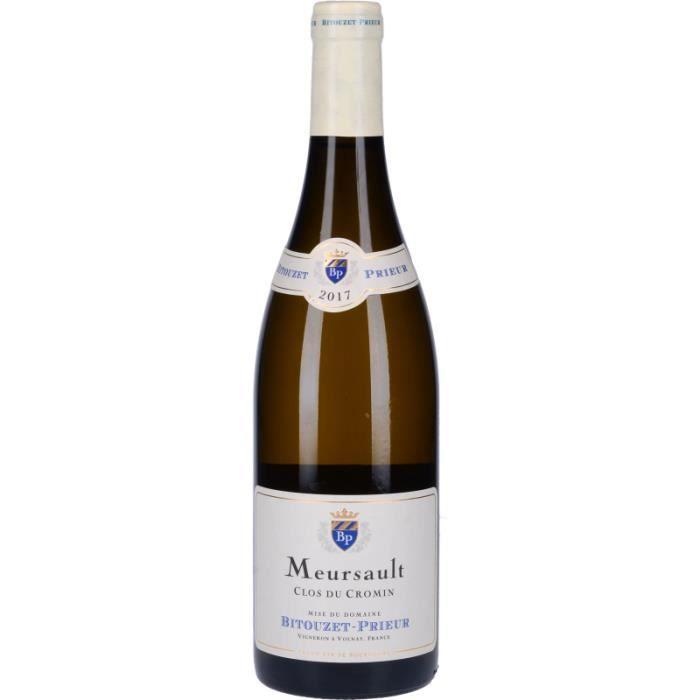 Vin Blanc - Meursault Clos du Cromin 2017 - Bouteille 75cl