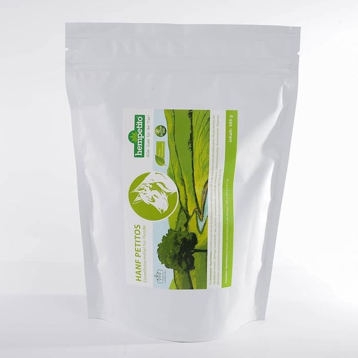 hempetito chanvre petitos – Complément alimentaire pour chien (1 kg) 629677