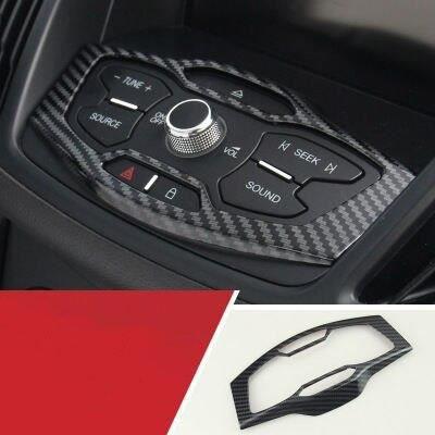 NO.17 -Accessoires de style de voiture spécial modifié intérieur autocollant décoratif garniture étui pour Ford KUGA ESCAPE 2013 201